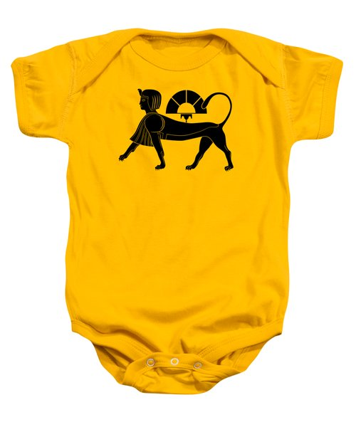 Sphinx - Mythical Creature Of Ancient Egypt Baby Onesie