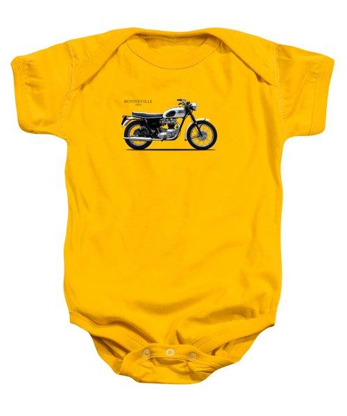 Triumph Bonneville 1963 Baby Onesie
