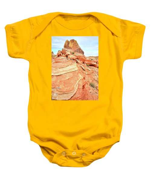 Valley Of Fire High Country Baby Onesie