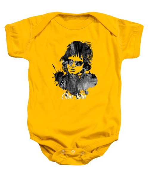 Elton John Collection Baby Onesie