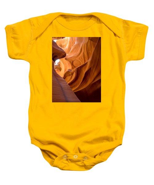 Lower Antelope Canyon Navajo Tribal Park #4 Baby Onesie