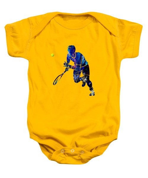 Mens Tennis Collection Baby Onesie