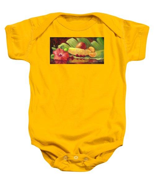 4 Cherries Baby Onesie