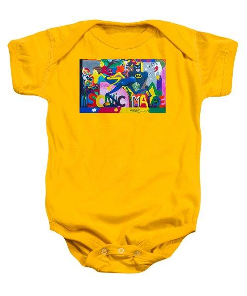 Graffiti Baby Onesie