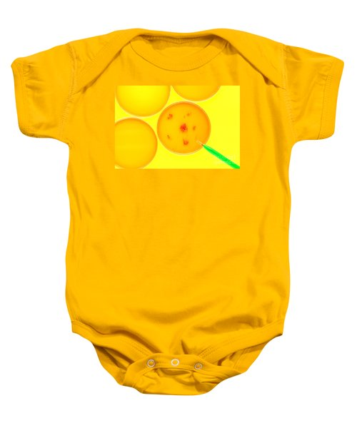 Biotechnology Experiment In Science Research Lab Baby Onesie
