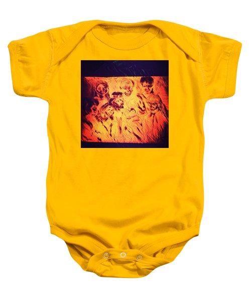 In Heaven With Jesus Baby Onesie