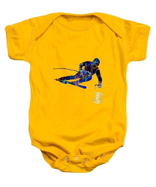 Skiing Collection Baby Onesie
