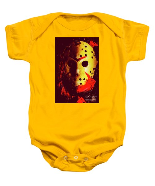 A Cinematic Nightmare Baby Onesie