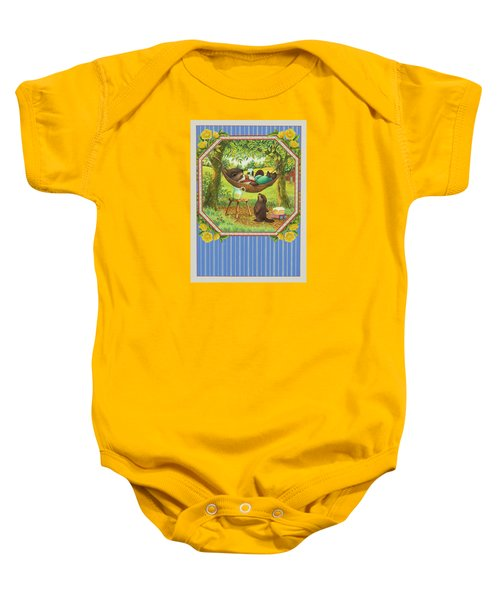 A Father's Day Treat Baby Onesie by Lynn Bywaters