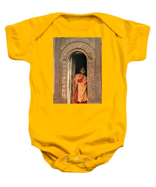 A Monk 4 Baby Onesie