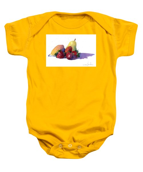 Still Life With Pears Baby Onesie