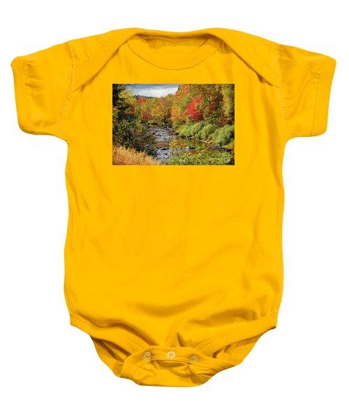 A River Runs Through Baby Onesie