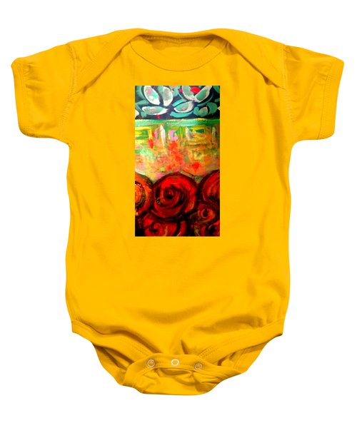 A Rose Is A Rose Baby Onesie