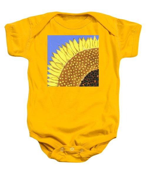 A Slice Of Sunflower Baby Onesie