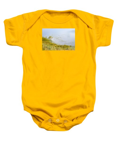 Baby Onesie featuring the photograph A Tree In The Lake Of The Scottish Highland by Dubi Roman