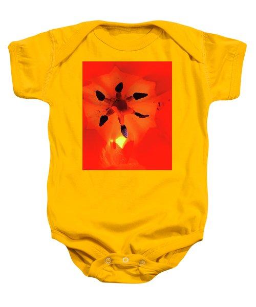 A Tulip's Secret Life Baby Onesie