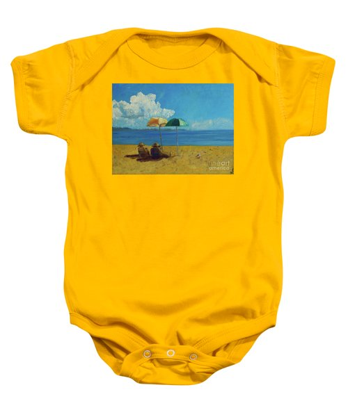 A Vacant Lot - Byron Bay Baby Onesie