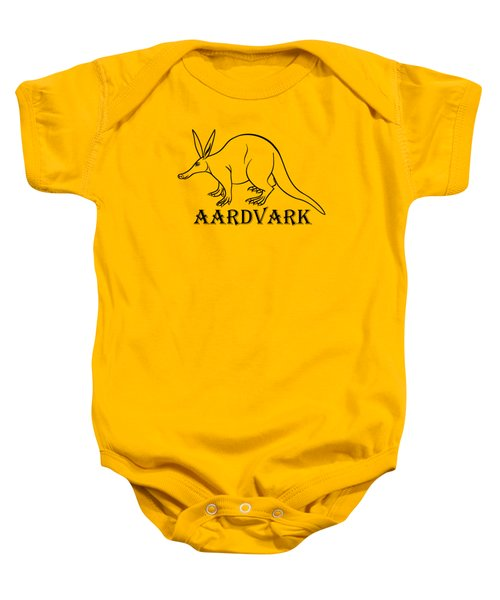 Aardvark Baby Onesie by Sarah Greenwell