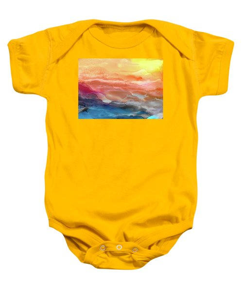 Above The Abyss Baby Onesie