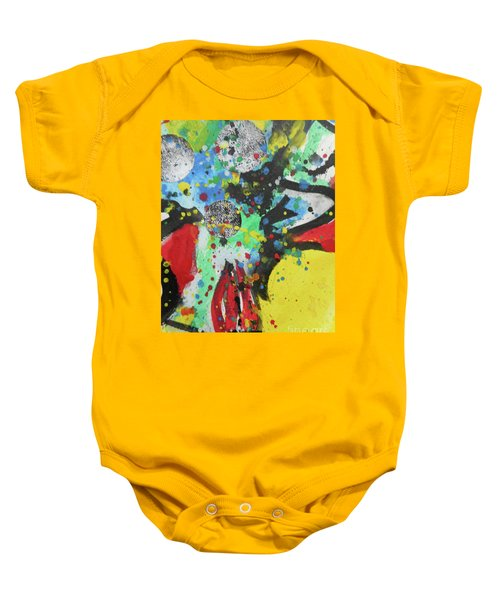 Abstract-1 Baby Onesie