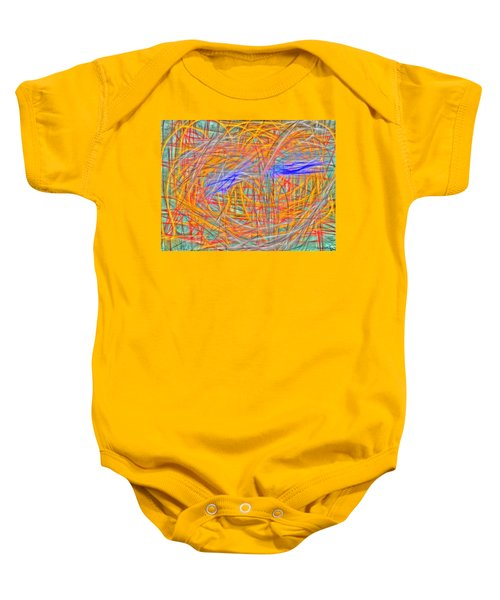 Abstract 401 Baby Onesie