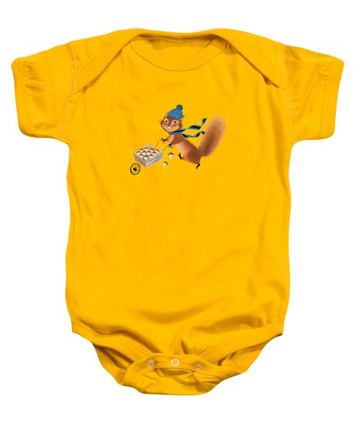 Acorn Industrialist Baby Onesie