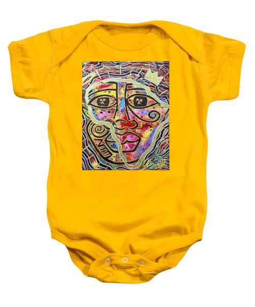 Africa Center Of The World Baby Onesie
