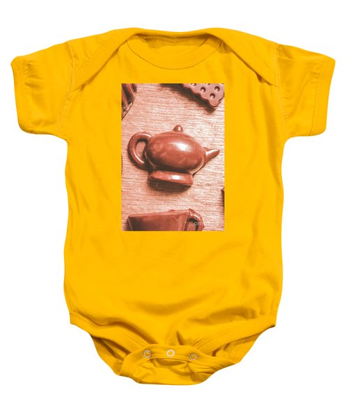 After Tea Confection Baby Onesie