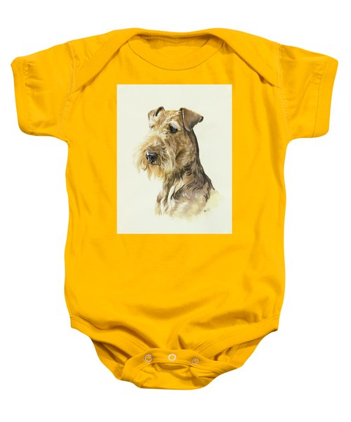 Airedale Baby Onesie