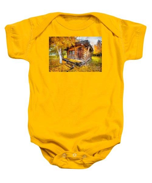 Alaskan Autumn Baby Onesie