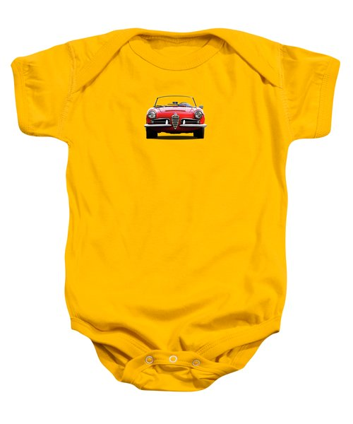 Alfa Romeo Spider Baby Onesie