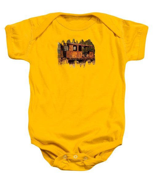 All Aboard Baby Onesie by Thom Zehrfeld