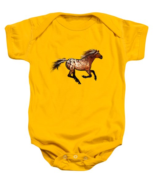 An Appaloosa Called Ginger Baby Onesie