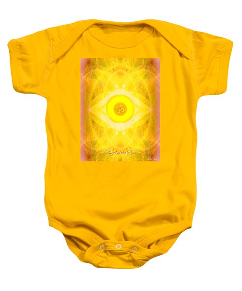 Angel Of The Sun Baby Onesie