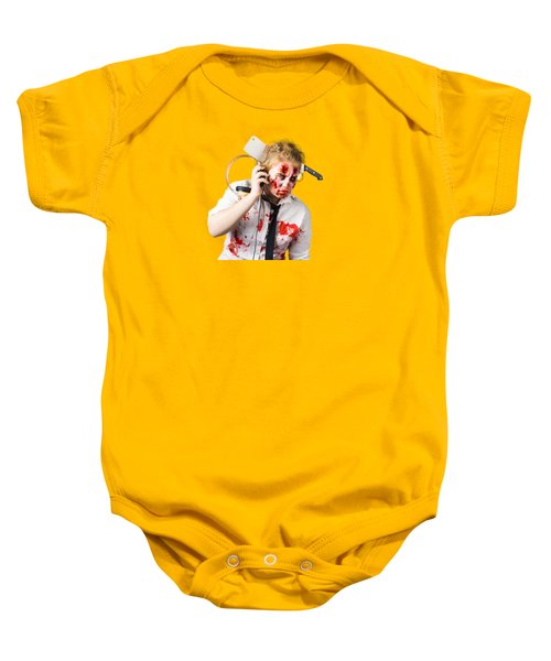 Anthem Of The Zombie Apocalypse Baby Onesie