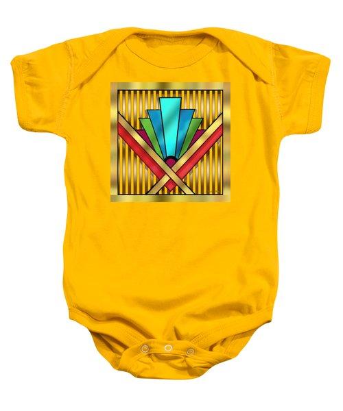 Art Deco 15 Transparent Baby Onesie
