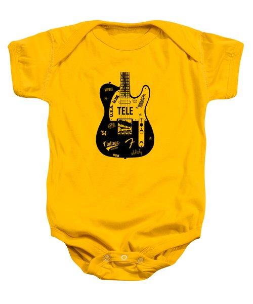 Fender Telecaster 64 Baby Onesie
