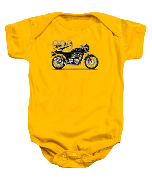 Triumph Thruxton Baby Onesie by Mark Rogan