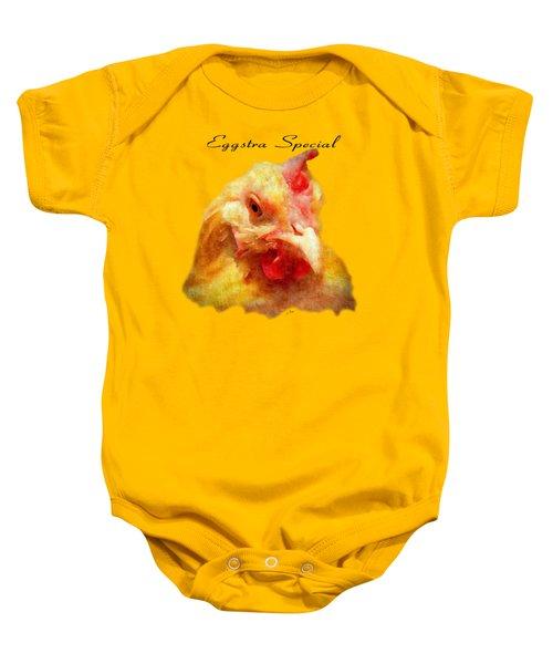Goldie's Turn - Silk Paint Baby Onesie by Anita Faye