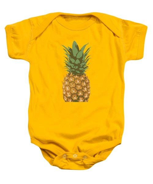 Pineapples Baby Onesie