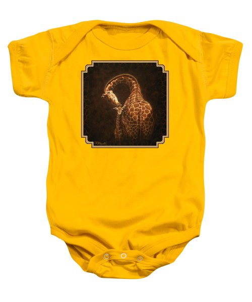 Love's Golden Touch Baby Onesie by Crista Forest
