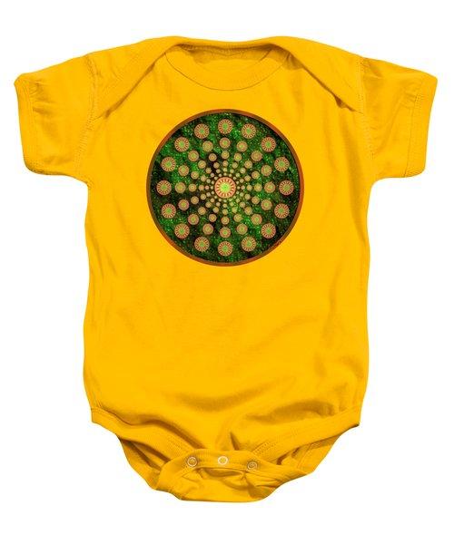 Mandala Radium 1 Baby Onesie