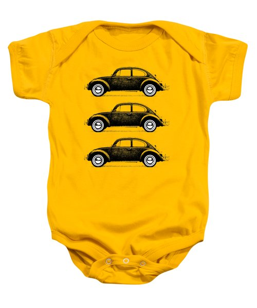 Think Small Baby Onesie by Mark Rogan
