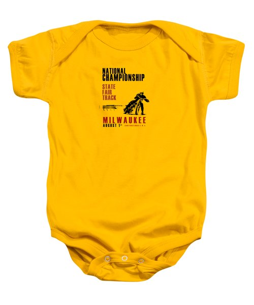 National Championship Milwaukee Baby Onesie