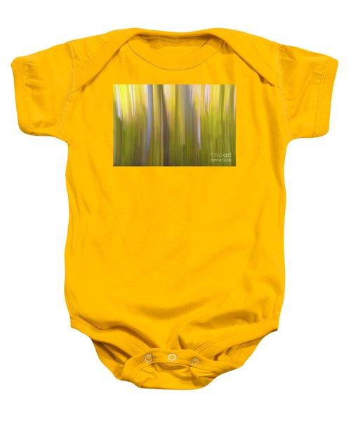 Aspen Blur #6 Baby Onesie