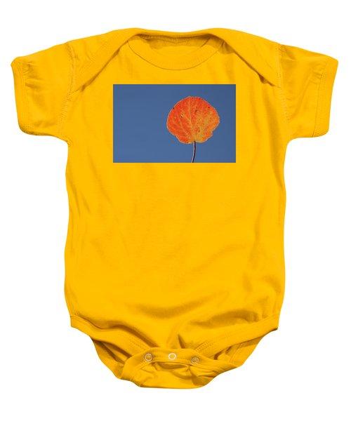 Aspen Leaf 1 Baby Onesie