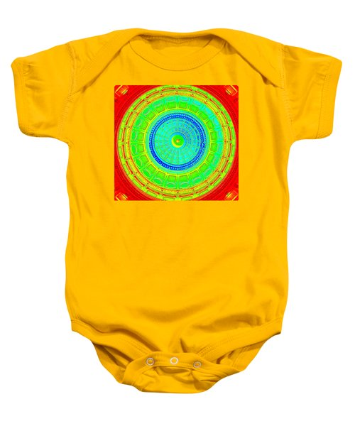 Austin Capitol Dome - 2 Baby Onesie