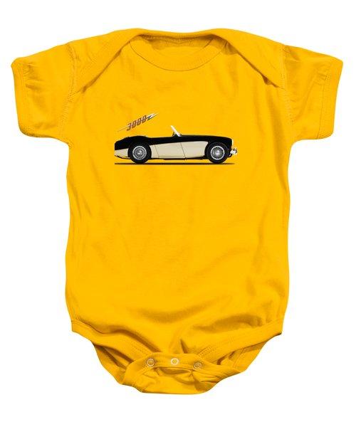 Austin Healey 3000 Baby Onesie by Mark Rogan