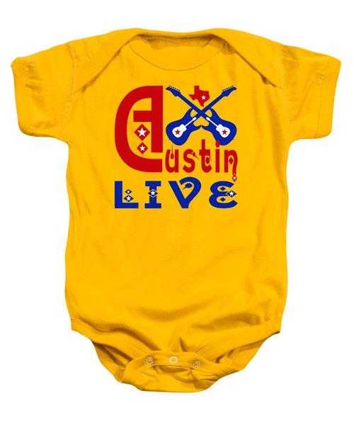 Austin Live Baby Onesie by David G Paul