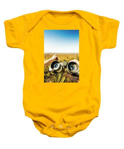 Australian Safari Baby Onesie